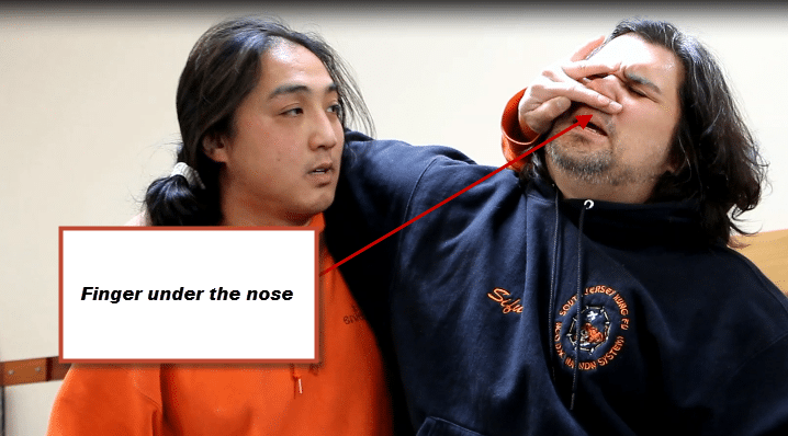 kungfu-lessons-online-headlock-nose