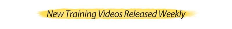 New Training Videos Released Week