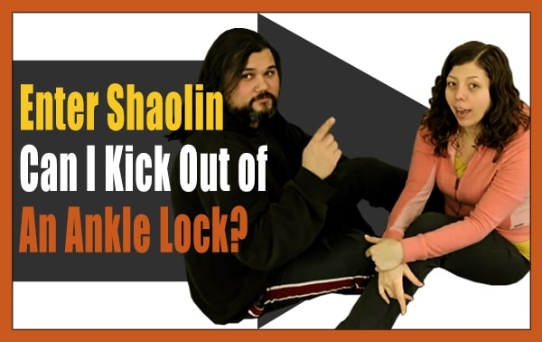 Kung Fu Lessons Online | Why Can't I Kick Out Of An Ankle Lock