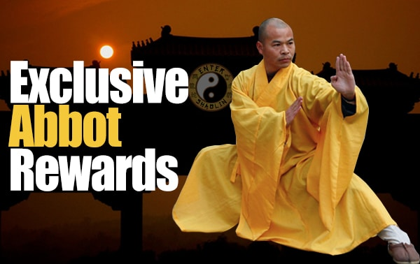 Enter Shaolin Abbot Rewards
