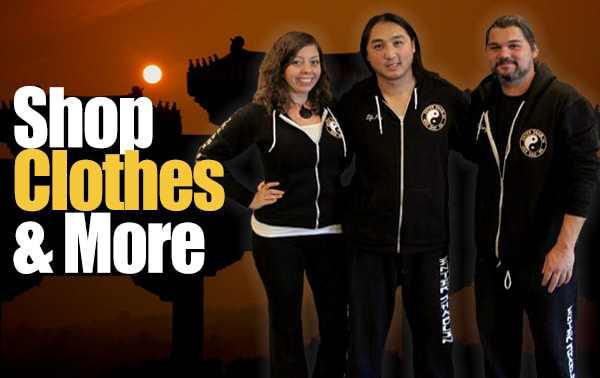 Enter Shaolin shop clothes and gifts.