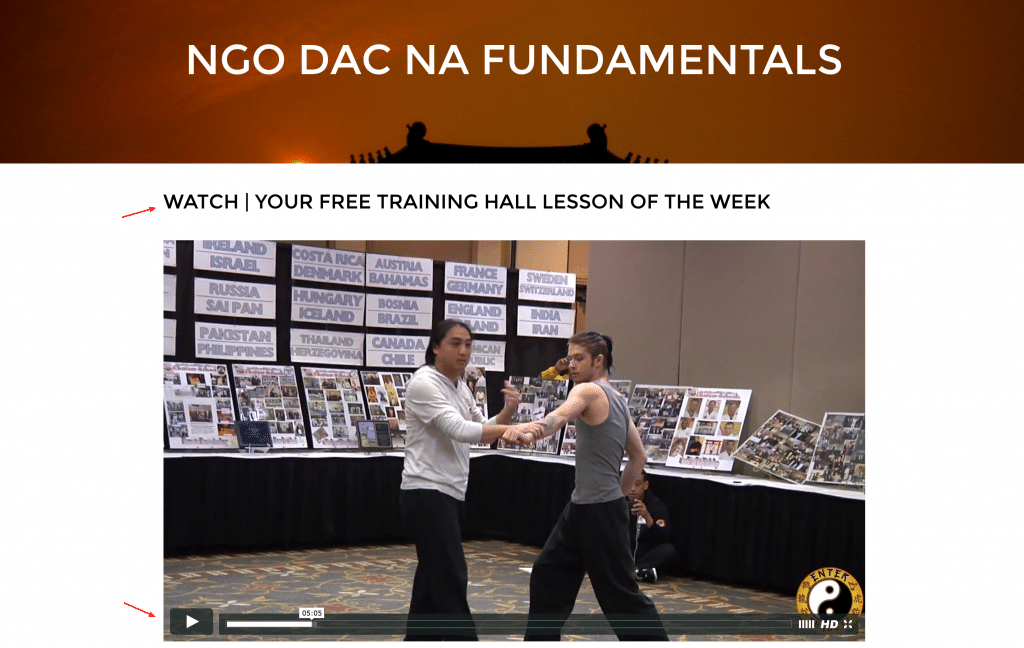 Ngo Dac Na Intro Free Lesson of The Week