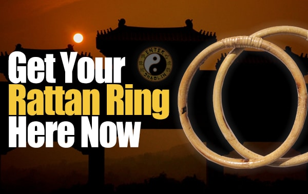 Enter Shaolin | Get your rattan ring here.