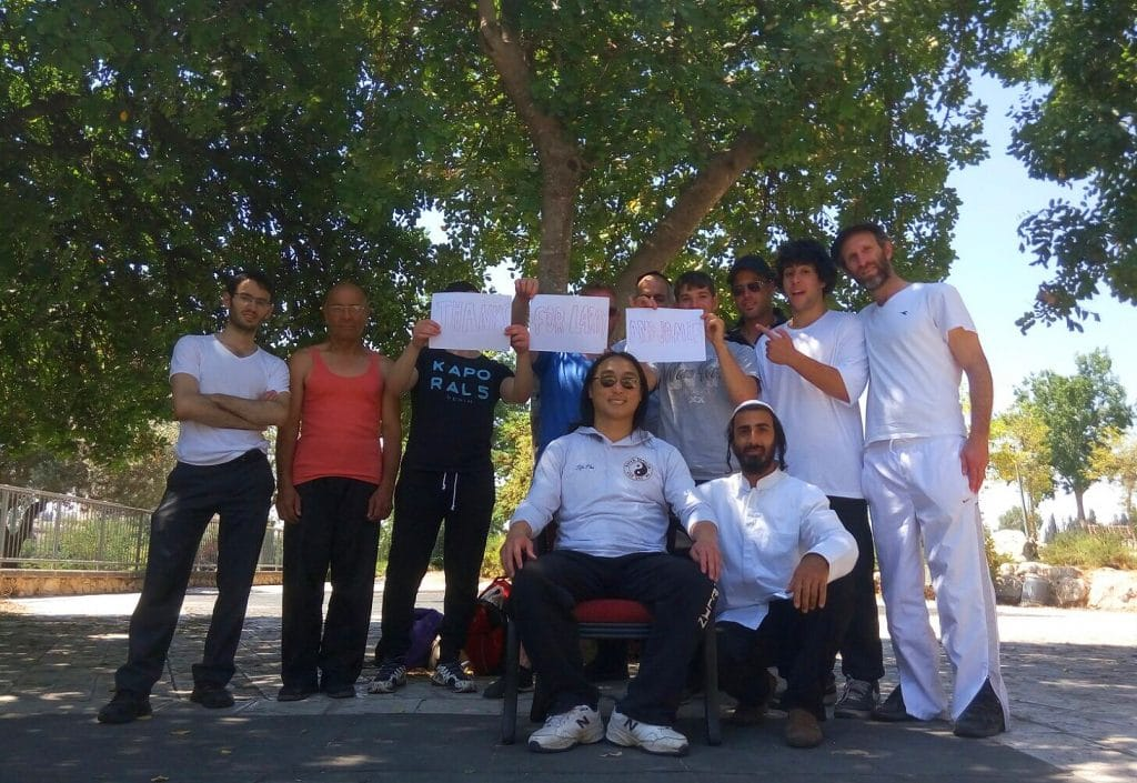 Enter Shaolin Israel Family - Thanks for Larry and Jamie
