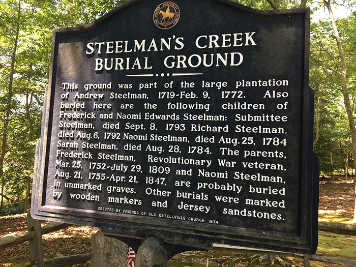 Steelman's Creek Burial Ground